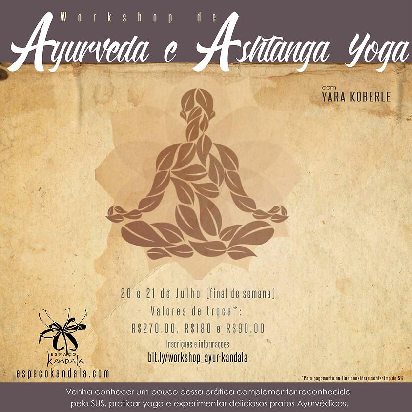 Workshop de Ayurveda e Ashtanga Yoga