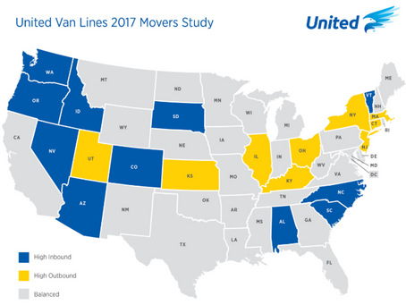 VBM: Vermont has the highest rate of moving-in in US