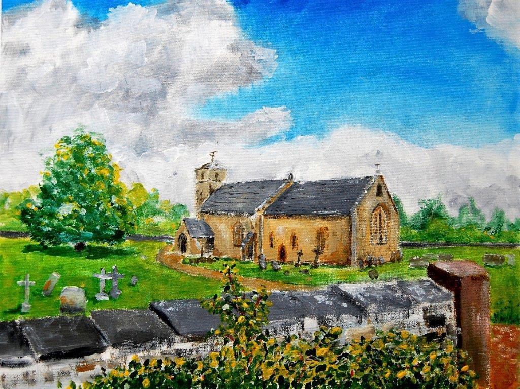 St Michael & St Martin Eastleach 2018