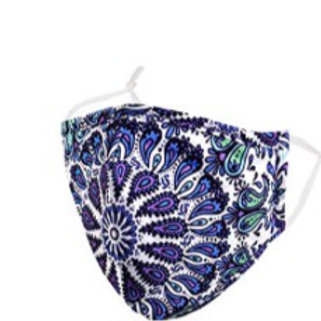 Blue & Purple Paisley