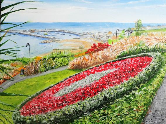 Alexander Garden, Lyme Regis 2019