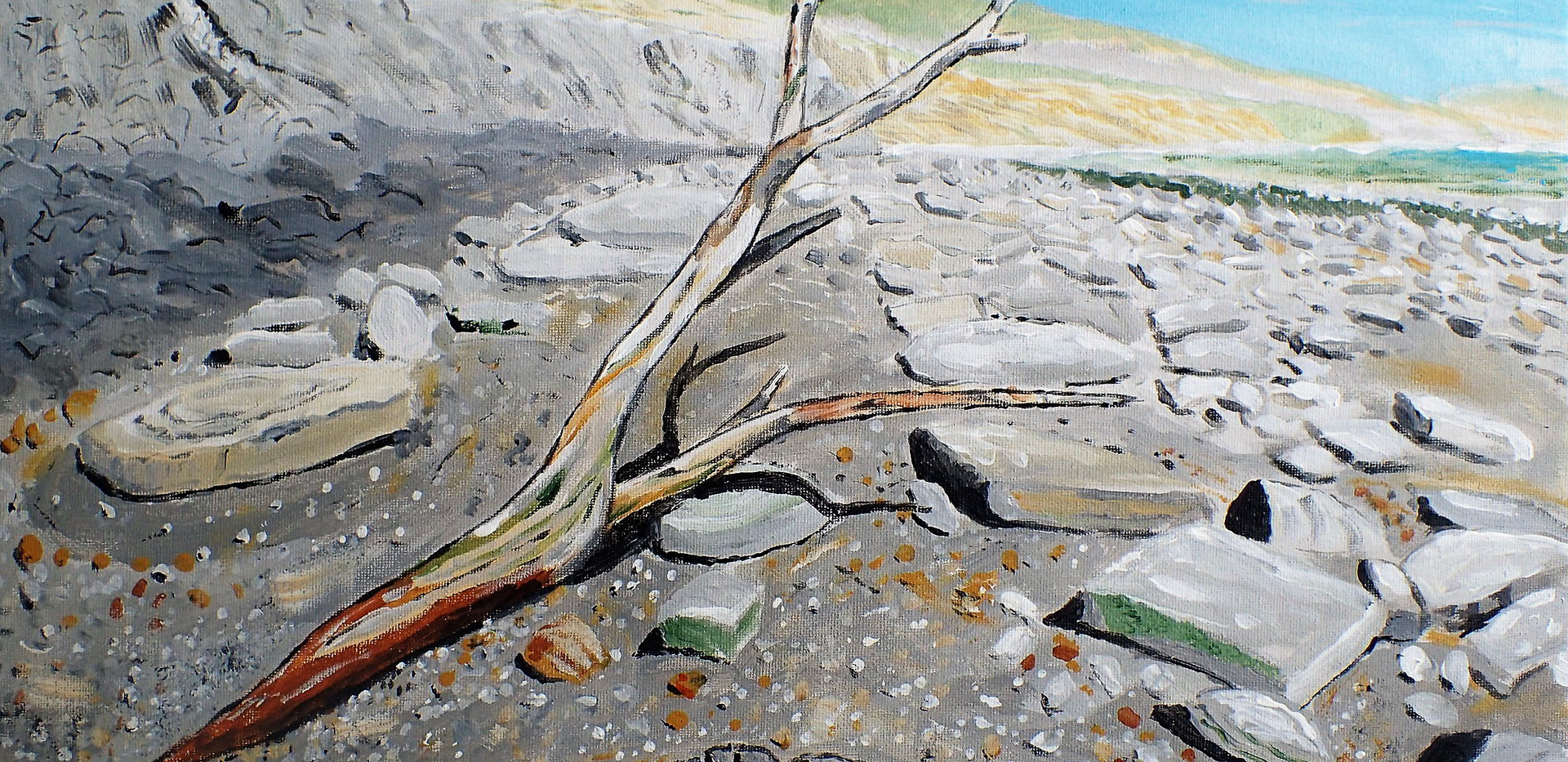 Branch, East Cliff Beach, Lyme Regis 201