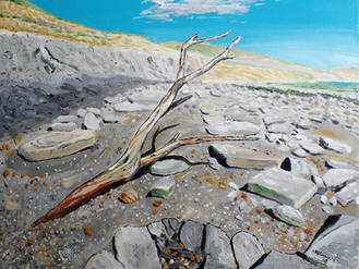 Branch, East Cliff Beach, Lyme Regis 201