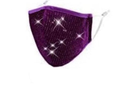 Purple Velvet Bling