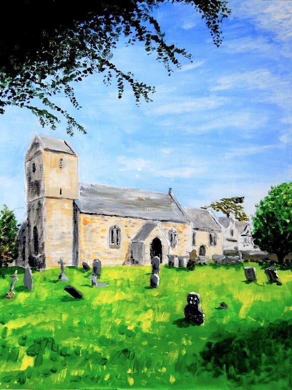 St Swithun Brookthorpe 2018