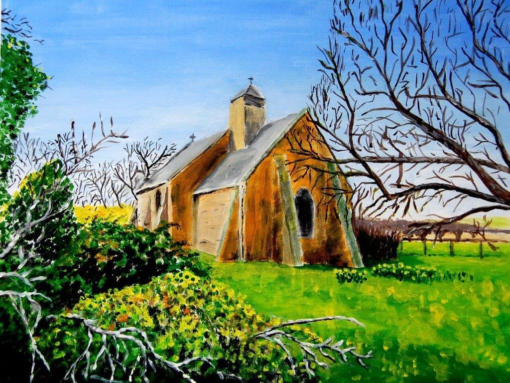 St Mary Little Washbourne 2018