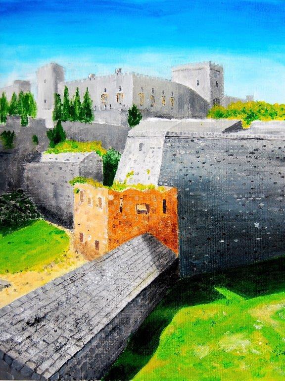 Rhodes Town City Walls 1 Rhodes Greece 2