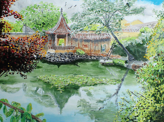 The Master of the Nets Garden in Suzhou,