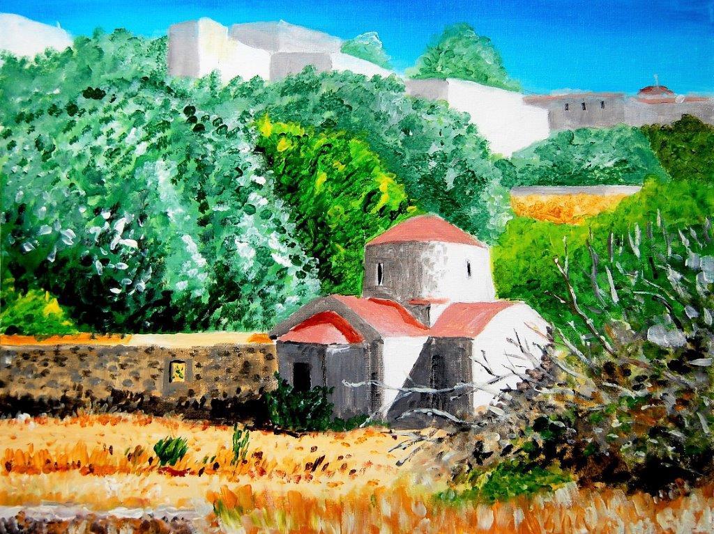 St Peter Lindos Main Beach Lindos Rhodes