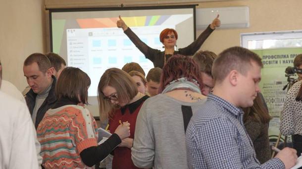 Студентство у профспілковому русі України: нарада голів профкомів