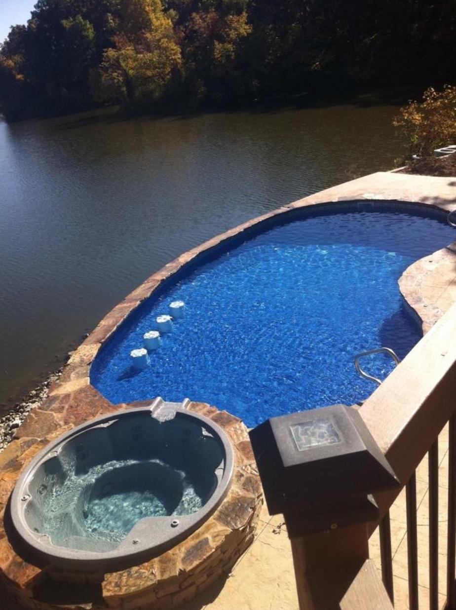Beautiful Backyard In-ground pool