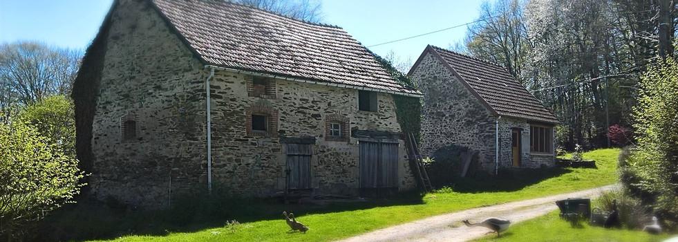 Le bâti, maisons creusoise