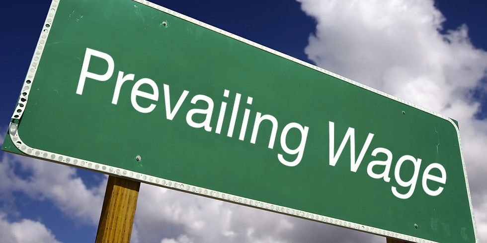 Prevailing Wage Update