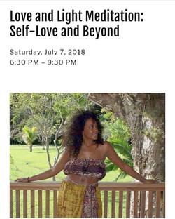 Self-love and Beyond workshop