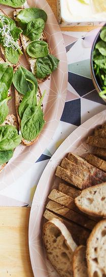 עלים ירוקים לחם מלא