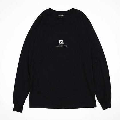 MIRROR BALL L/S T-SHIRT【BLACK】