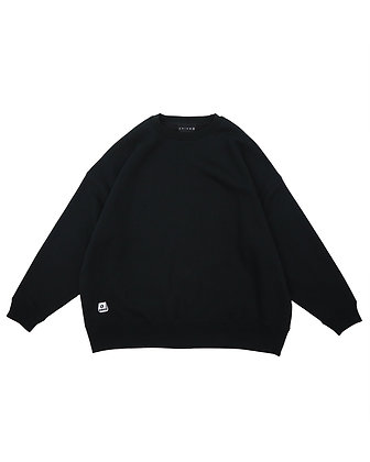 BIG SILHOUETTE CREW NECK【 3 COLOR 】