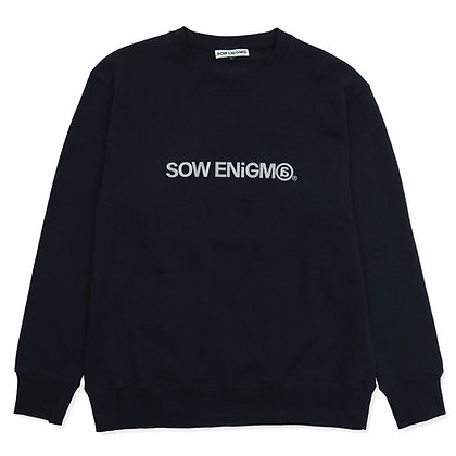 LOGO CREWNECK【4 COLOR】