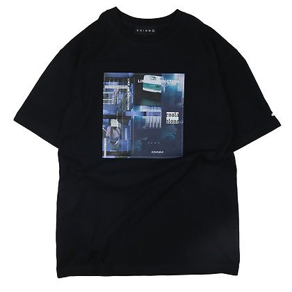 ENOLA MINMAD T-SHIRT【BLACK】