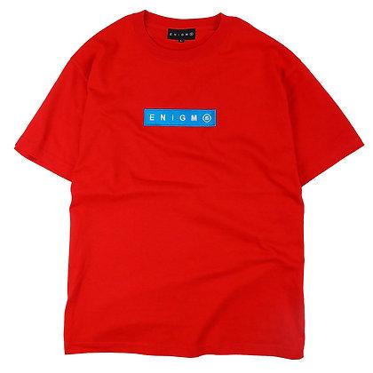 BOX LOGO T-SHIRT【RED】