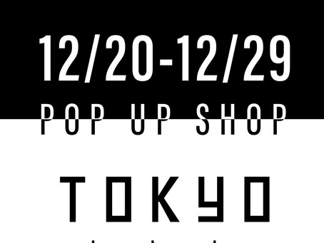 【仙台 POP UP SHOP情報】12/20 [Fri]~12/29[Sun] ENiGM@ pop up shop at  TOKYO by ambassador.ny