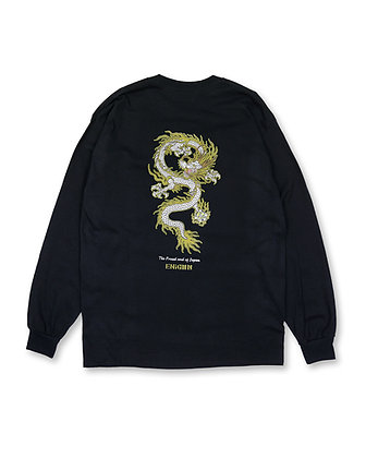 WHITE DRAGON LONG SLEEVE