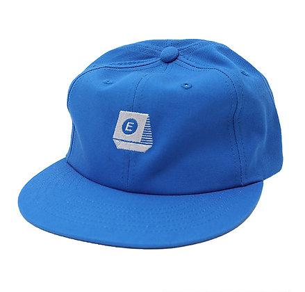 TYPEWRITER LOGO 6 PANEL【BLUE】