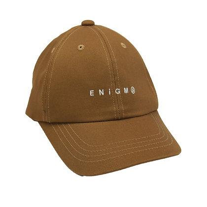 ENiGM@ LOGO GOLF CAP【CAMEL】
