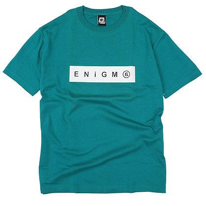 ENiGM@ - BOX LOGO T-SHIRT 【APPLE GREEN】