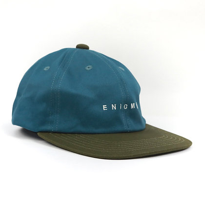 TWO TONE 6 PANEL【GREEN】