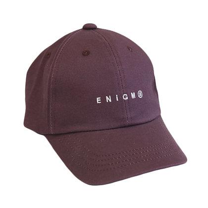 ENiGM@ LOGO GOLF CAP【MAROON】