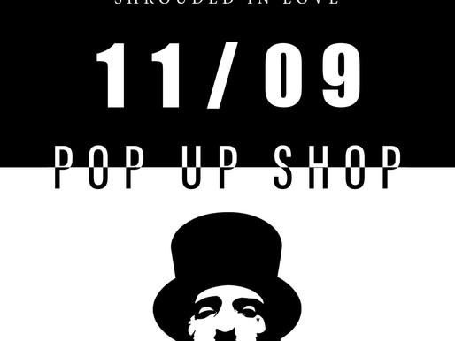 【姫路 POP UP SHOP情報】11/ 9 [Sat] ENiGM@ pop up shop at  CLOTH + CROSS