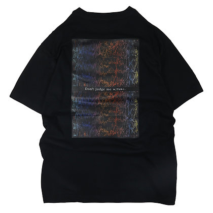 BRAIN WAVE T-SHIRT【BLACK】