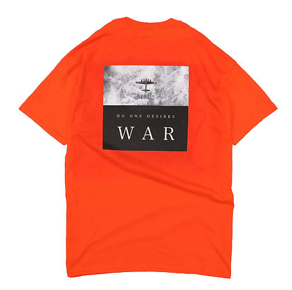 NO WAR T-SHIRT【ORANGE】