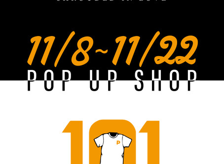 【西宮POP UP SHOP情報】11/8 [Fri]〜 11/22 [Fri] ENiGM@ pop up shop at 101 Clothing store