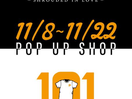 【西宮POP UP SHOP情報】11/8 [Fri]〜 11/22 [Fri] ENiGM@ pop up shop at 101 Clothing store