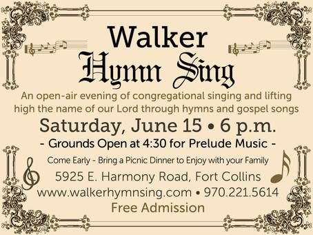 Walker Hymn Sing