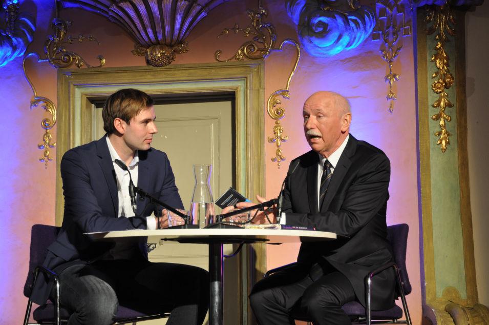 Literatur Live - mit Wieland Backes