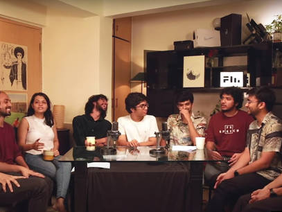 Based out of Kolkata, A group of 6 animators came together to form Ghost animation, to eventually go on to become one of India's leading 2d animation studios, breaking boundaries in the space of independent and commercial animated films. Their independent films have been making waves in the animation community globally after being selected at multiple  international film festivals