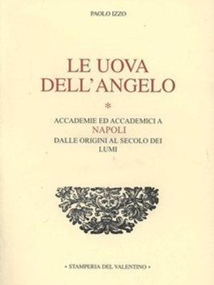 Le Uova dell'Angelo - Paolo Izzo
