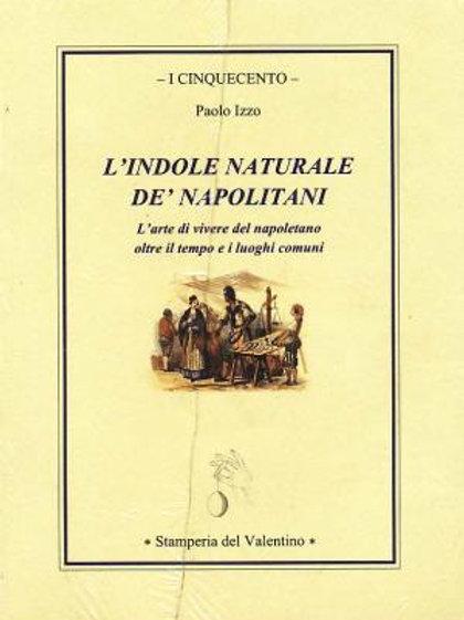 L'Indole naturale de' Napoletani - Paolo Izzo