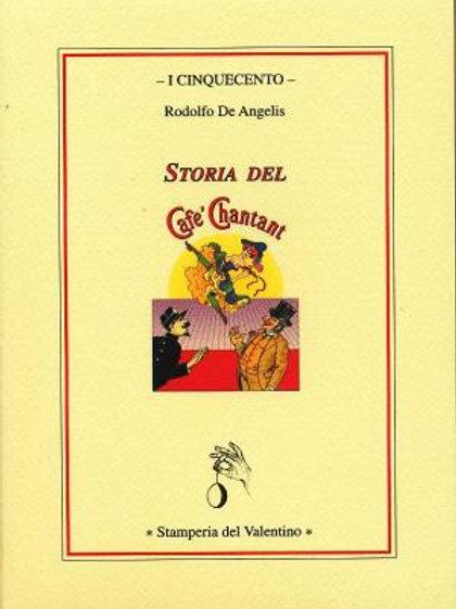 Storia del Café Chantant - Rodolfo De Angelis