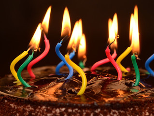 How are the apostles like birthday candles?
