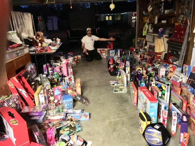 Toy Drive Garage