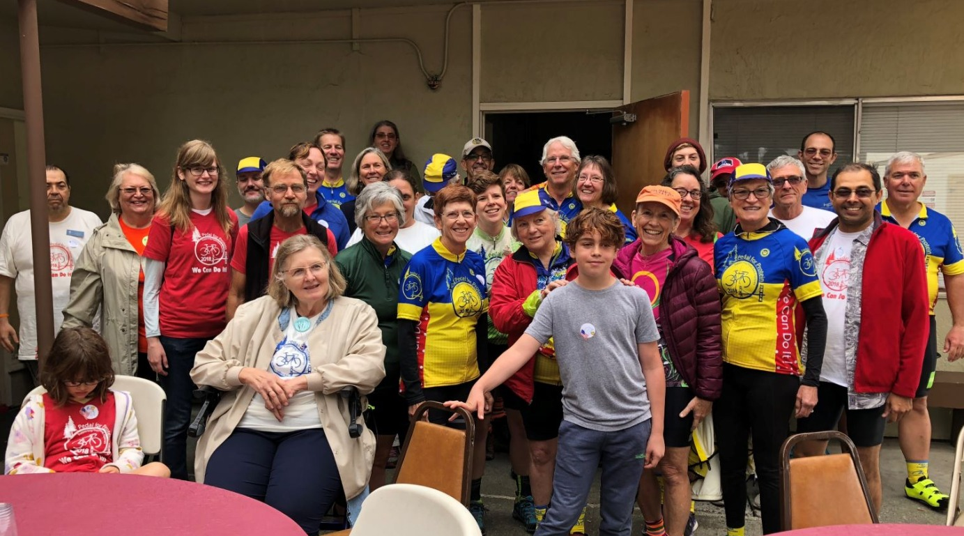 Knox Pedal for Protein Riders Sept
