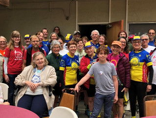 Knox hosts successful Pedal for Protein One-Day Ride Raising Money for Food Pantries!