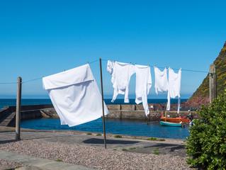 Laundry Day: A Meditation on Ephesians 5:8-14