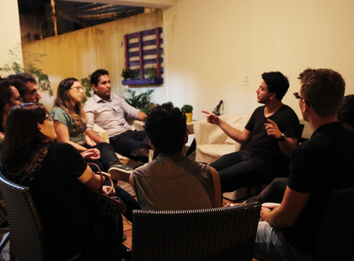 Virando a Chave: Uma roda de conversas sobre carreiras e propósito
