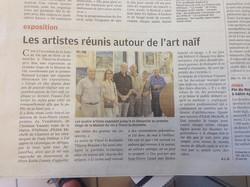 Exposition Thoré-la-Rochette