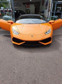 AS Orange Sports Car